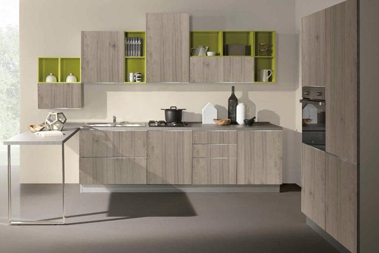 cucina Mia rovere grigio