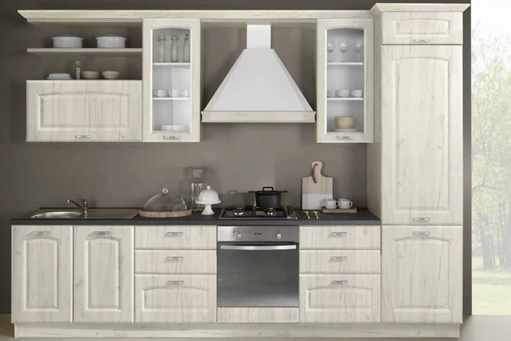 cucina Sofia bianco rustico