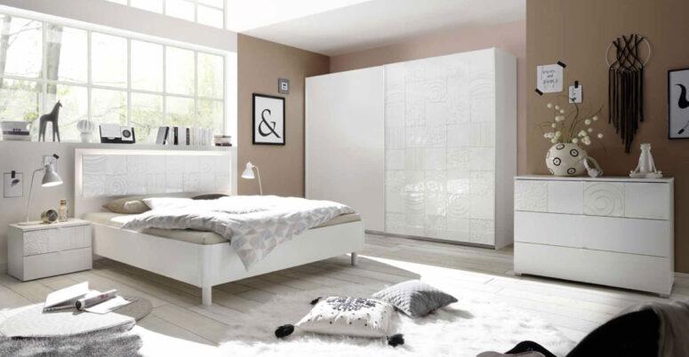 camera letto Xaos Bianco