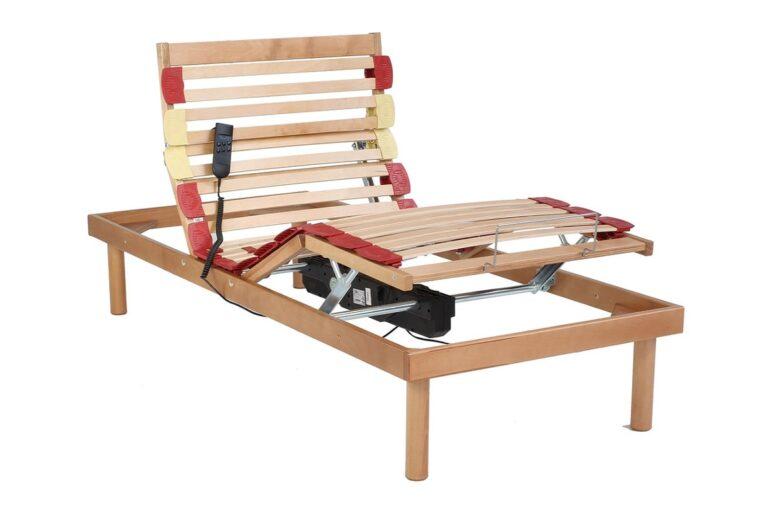 rete in legno motorizzata